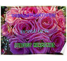 Perfect Harmonies - Runner Up Banner Poster