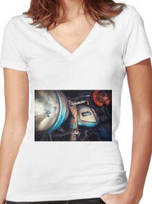 MZ TS Women's Fitted V-Neck T-Shirt