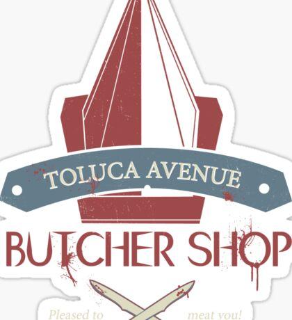 The Silent Butcher Sticker