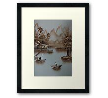 Penang Malaysia. Framed Print