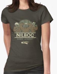 Nilbog Dance Academy Womens Fitted T-Shirt