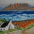 Table View Blouberg Capetown. by christiaan-art venter