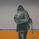 Old Man Walking by christiaan-art venter