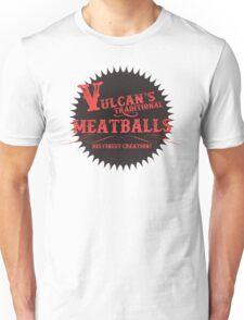 Vulcan's Traditional Meatballs - BLACK Unisex T-Shirt