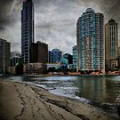 Brisbane CBD by Paul  Milburn