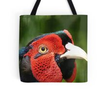 Now Thats Close Enough Lady! - Common Pheasant - NZ Tote Bag