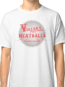 Vulcan's Traditional Meatballs - WHITE Classic T-Shirt