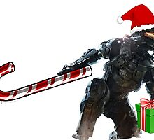 Master Chief Santa Claus by Lingua94