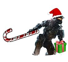 Master Chief Santa Claus Photographic Print