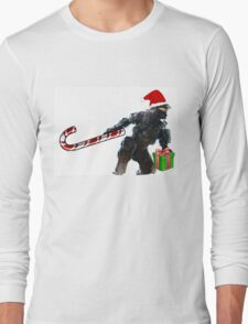 Master Chief Santa Claus Long Sleeve T-Shirt