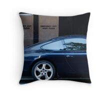 The End of the Boom Throw Pillow