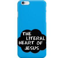 The literal heart of Jesus iPhone Case/Skin