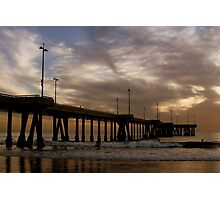 Short Walk, Long Pier Photographic Print