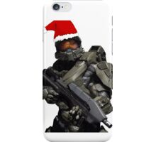 Master Chief Christmas iPhone Case/Skin