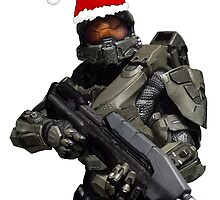 Master Chief Christmas by Lingua94