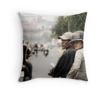 Saigon Throw Pillow