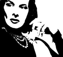 Katharine Hepburn Is Class Sticker