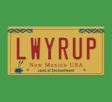 License Plate - LWYRUP by TswizzleEG
