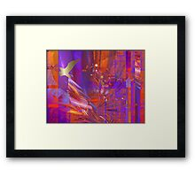 If I had the wings of a dove Framed Print