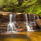The Cascades Wentworth Falls by MiImages