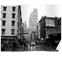 West Broadway & Chambers Poster