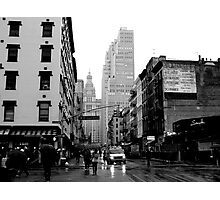 West Broadway & Chambers Photographic Print