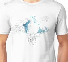 Toothless and Stitch - Where no one goes Unisex T-Shirt