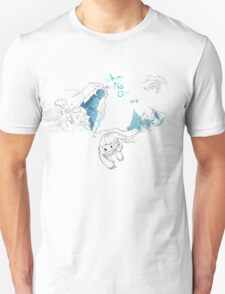 Toothless and Stitch - Where no one goes T-Shirt