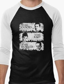 The Good, The Bad and The Butler Men's Baseball ¾ T-Shirt