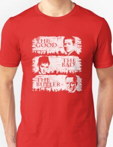 The Good, The Bad and The Butler T-Shirt