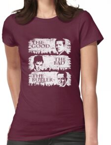 The Good, The Bad and The Butler Womens Fitted T-Shirt