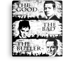 The Good, The Bad and The Butler Metal Print