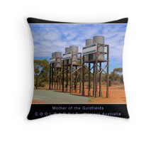 Mother of the Goldfields Throw Pillow