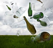 Glass Recycling by Andrew Bret Wallis