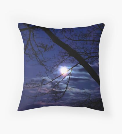 Glowing Colors Throw Pillow
