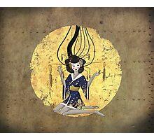 Goddess of Robotic Geishas Photographic Print