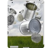 Can & Foil Recycling iPad Case/Skin