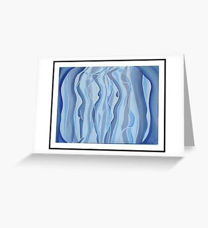 Blue Sue Greeting Card