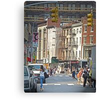 Union Square, Looking North Canvas Print
