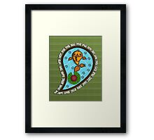 Scales the Goldfish Framed Print