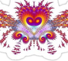 Fractal Bird Sticker