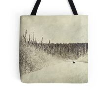 Walking Luna Tote Bag