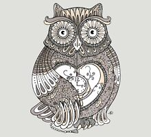 The Timely Owl Tee Womens Fitted T-Shirt
