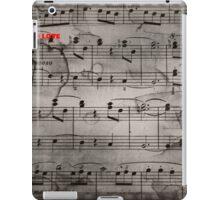 Mozart notes iPad Case/Skin