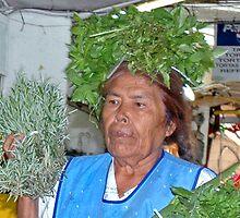 herb lady by Annais Brindel