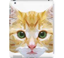 Crystalline Cat iPad Case/Skin