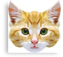 Crystalline Cat Canvas Print
