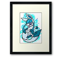 Pokemon- Glaceon Framed Print