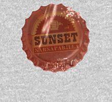 Sunset Sarsaparilla Bottle Cap Unisex T-Shirt