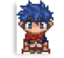 Pixel Ike - Fire Emblem : Path of Radiance Canvas Print